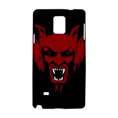 Dracula Samsung Galaxy Note 4 Hardshell Case by Valentinaart