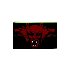 Dracula Cosmetic Bag (xs) by Valentinaart