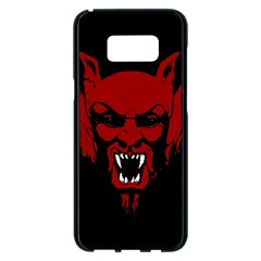 Dracula Samsung Galaxy S8 Plus Black Seamless Case by Valentinaart