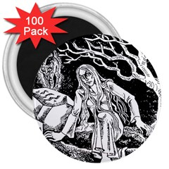 Vampire  3  Magnets (100 Pack) by Valentinaart