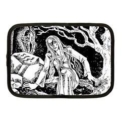 Vampire  Netbook Case (medium)  by Valentinaart