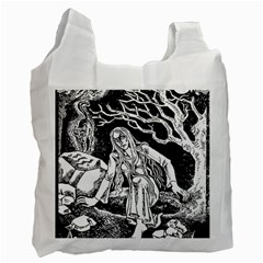 Vampire  Recycle Bag (two Side)  by Valentinaart
