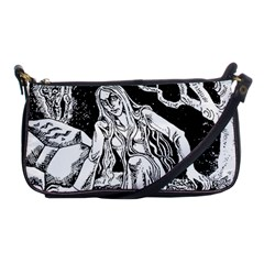 Vampire  Shoulder Clutch Bags by Valentinaart