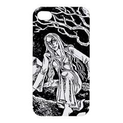 Vampire  Apple Iphone 4/4s Premium Hardshell Case by Valentinaart