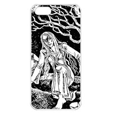 Vampire  Apple Iphone 5 Seamless Case (white) by Valentinaart