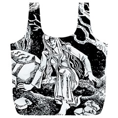 Vampire  Full Print Recycle Bags (l)  by Valentinaart