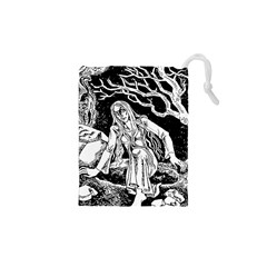 Vampire  Drawstring Pouches (xs)  by Valentinaart