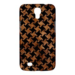 Houndstooth2 Black Marble & Brown Stone Samsung Galaxy Mega 6 3  I9200 Hardshell Case by trendistuff