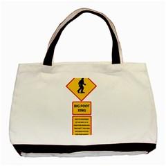 Bigfoot Basic Tote Bag by Valentinaart