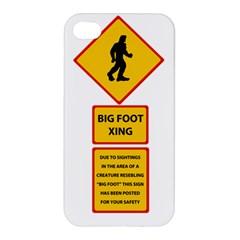 Bigfoot Apple Iphone 4/4s Premium Hardshell Case by Valentinaart