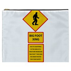 Bigfoot Cosmetic Bag (xxxl)  by Valentinaart
