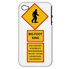 Bigfoot Apple Iphone 4/4s Hardshell Case (pc+silicone) by Valentinaart