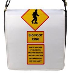 Bigfoot Flap Messenger Bag (s) by Valentinaart