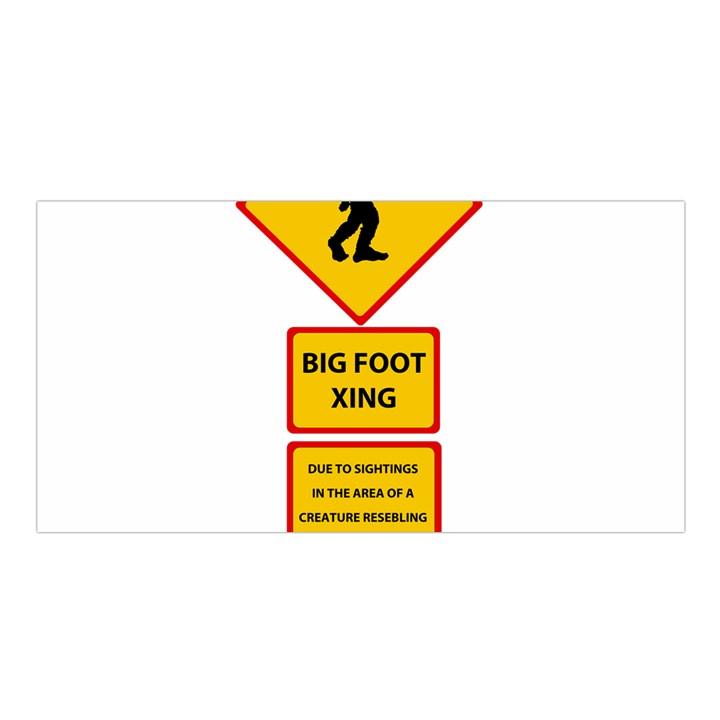 Bigfoot Satin Shawl
