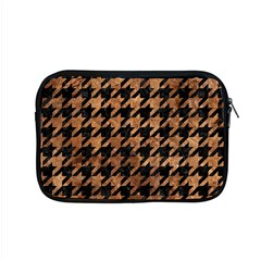 Houndstooth1 Black Marble & Brown Stone Apple Macbook Pro 15  Zipper Case by trendistuff