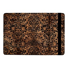 Damask2 Black Marble & Brown Stone (r) Samsung Galaxy Tab Pro 10 1  Flip Case by trendistuff