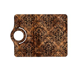 Damask1 Black Marble & Brown Stone (r) Kindle Fire Hd (2013) Flip 360 Case by trendistuff