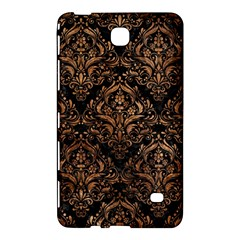 Damask1 Black Marble & Brown Stone Samsung Galaxy Tab 4 (7 ) Hardshell Case