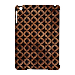 Circles3 Black Marble & Brown Stone Apple Ipad Mini Hardshell Case (compatible With Smart Cover) by trendistuff