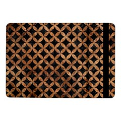 Circles3 Black Marble & Brown Stone Samsung Galaxy Tab Pro 10 1  Flip Case by trendistuff