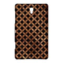 Circles3 Black Marble & Brown Stone Samsung Galaxy Tab S (8 4 ) Hardshell Case  by trendistuff