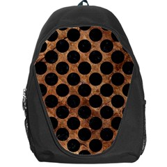 CIR2 BK-MRBL BR-STONE (R) Backpack Bag by trendistuff