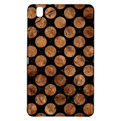Circles2 Black Marble & Brown Stone Samsung Galaxy Tab Pro 8 4 Hardshell Case by trendistuff