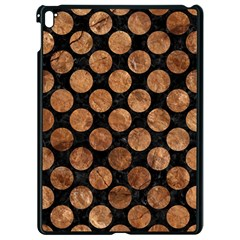 Circles2 Black Marble & Brown Stone Apple Ipad Pro 9 7   Black Seamless Case by trendistuff