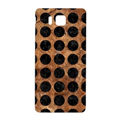 Circles1 Black Marble & Brown Stone (r) Samsung Galaxy Alpha Hardshell Back Case by trendistuff