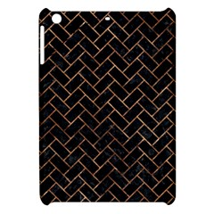 Brick2 Black Marble & Brown Stone Apple Ipad Mini Hardshell Case by trendistuff