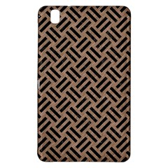 Woven2 Black Marble & Brown Colored Pencil (r) Samsung Galaxy Tab Pro 8 4 Hardshell Case by trendistuff