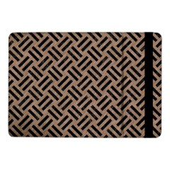 Woven2 Black Marble & Brown Colored Pencil (r) Samsung Galaxy Tab Pro 10 1  Flip Case by trendistuff