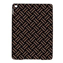 Woven2 Black Marble & Brown Colored Pencil Apple Ipad Air 2 Hardshell Case by trendistuff