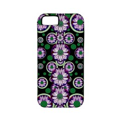 Fantasy Flower Forest  In Peacock Jungle Wood Apple Iphone 5 Classic Hardshell Case (pc+silicone) by pepitasart
