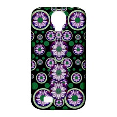 Fantasy Flower Forest  In Peacock Jungle Wood Samsung Galaxy S4 Classic Hardshell Case (pc+silicone) by pepitasart
