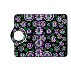 Fantasy Flower Forest  In Peacock Jungle Wood Kindle Fire Hd (2013) Flip 360 Case by pepitasart