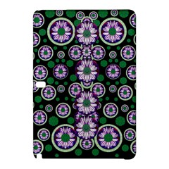 Fantasy Flower Forest  In Peacock Jungle Wood Samsung Galaxy Tab Pro 12 2 Hardshell Case by pepitasart