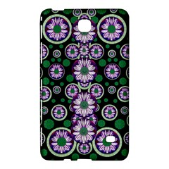 Fantasy Flower Forest  In Peacock Jungle Wood Samsung Galaxy Tab 4 (8 ) Hardshell Case  by pepitasart
