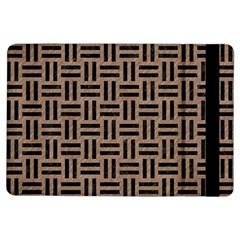 Woven1 Black Marble & Brown Colored Pencil (r) Apple Ipad Air Flip Case by trendistuff