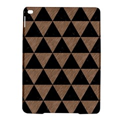 Triangle3 Black Marble & Brown Colored Pencil Apple Ipad Air 2 Hardshell Case by trendistuff