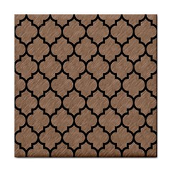 Tile1 Black Marble & Brown Colored Pencil (r) Tile Coaster by trendistuff