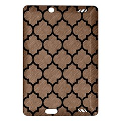 Tile1 Black Marble & Brown Colored Pencil (r) Amazon Kindle Fire Hd (2013) Hardshell Case by trendistuff
