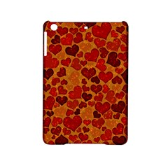 Sparkling Hearts,deep Red Ipad Mini 2 Hardshell Cases