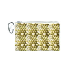 Cleopatras Gold Canvas Cosmetic Bag (s) by psweetsdesign