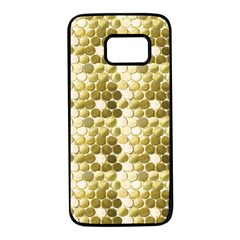 Cleopatras Gold Samsung Galaxy S7 Black Seamless Case by psweetsdesign