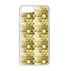 Cleopatras Gold Apple Iphone 7 Plus White Seamless Case by psweetsdesign