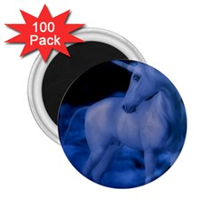Magical Unicorn 2 25  Magnets (100 Pack)  by KAllan