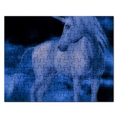 Magical Unicorn Rectangular Jigsaw Puzzl by KAllan