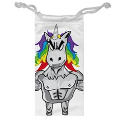 Angry Unicorn Jewelry Bag by KAllan