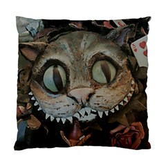 Cheshire Cat Standard Cushion Case (one Side)